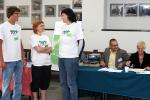 Rejestracja (2): Wolontariusze - Urszula Lach, Anna Ogonowska i Artur Morgulec