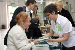Registration (1): Prof Irena Celejowa and Urszula Dolińska