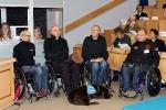 Sesja Plenarna (6): Zawodnicy warszawskiej drużyny rugby na wózkach FOUR KINGS