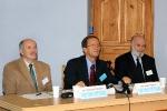Sesja Plenarna (8): Przewodniczący sesji - prof. Krzysztof Klukowski, prof. Andrzej Kosmol i prof. Stanisław Kowalik