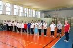 Sesja Pokazowa adaptowanego wychowania fizycznego z osobami z niepełnosprawnością intelektualną z Sekcji Olimpiad Specjalnych poprowadzona przez mgr Zdzisławę Dzierzbicką (1)