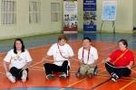 Sesja Pokazowa adaptowanego wychowania fizycznego z osobami z niepełnosprawnością intelektualną z Sekcji Olimpiad Specjalnych poprowadzona przez mgr Zdzisławę Dzierzbicką (3)