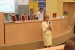 Zakończenie konferencji (2) - Helena Rusiecka, Dyrektor Olsztyńskiej Szkoły Wyższej im. Józefa Rusieckiego