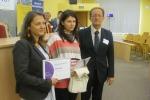 Wręczenie nagrody dla mgr Natalii Nikorowskiej-Putry laureatki III edycji konkursu PTN-AAF na najlepszą pracę magisterską z zakresu adaptowanej aktywności fizycznej (3)