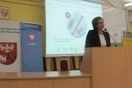 Otwarcie konferencji (3) - Pani Anna Wasilewska, Członek Zarządu Województwa Warmińsko – Mazurskiego