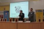 Otwarcie konferencji (1) - prof. Henryk Kostyra, Rektor Olsztyńskiej Szkoły Wyższej im. Józefa Rusieckiego i prof. Bartosz Molik z AWF Warszawa