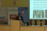 Plenary Session (5) - dr Lucyna Górska-Kłęk from the University School of Physical Education in Wrocław