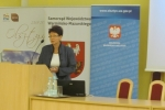 dr Danuta Zwolińska from the State Higher Vocational School in Racibórz